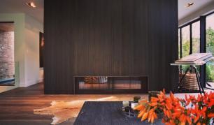 caminetti a legna NIPPON H BIFACCIALE